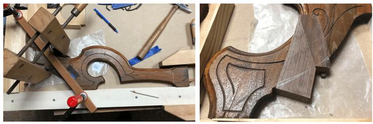 Leg 2 patch 2 glue 2 result